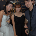 Ian Galliguez with Erika Ongtauco and bf Ren
