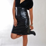 leather dress ian duday galliguez