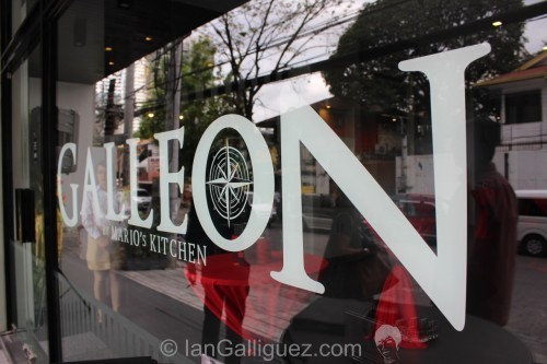 The Galleon Facade