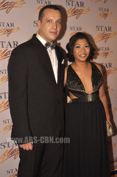 Ian Galliguez and Dave Watkinson at the Star Magic Ball 2010