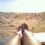 My legs and toes approve of this beach!