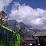 Jade snow mountain