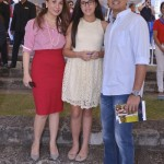 L-R Julie Boschi, Juliana Gomez and Richard Gomez