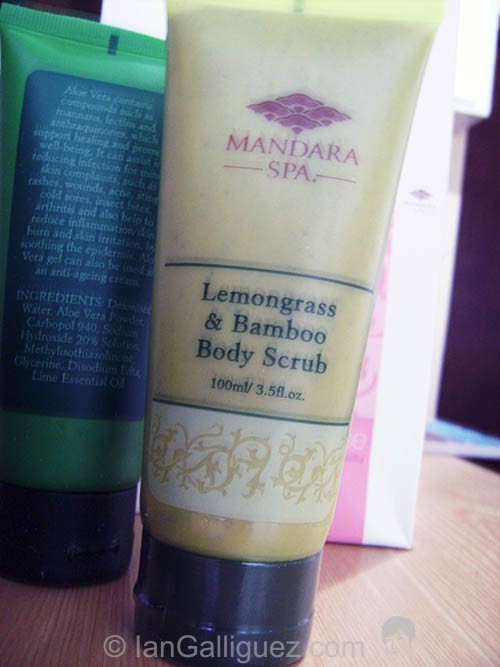 Mandara Lemongrass and Bamboo Body Scrub