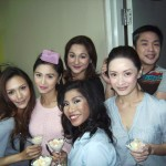 The ladies of 24/7 in love Kim Chiu, Maricar Reyes, China Cojuangco, Dax bayani, Nina Dolino, Ian Galliguez