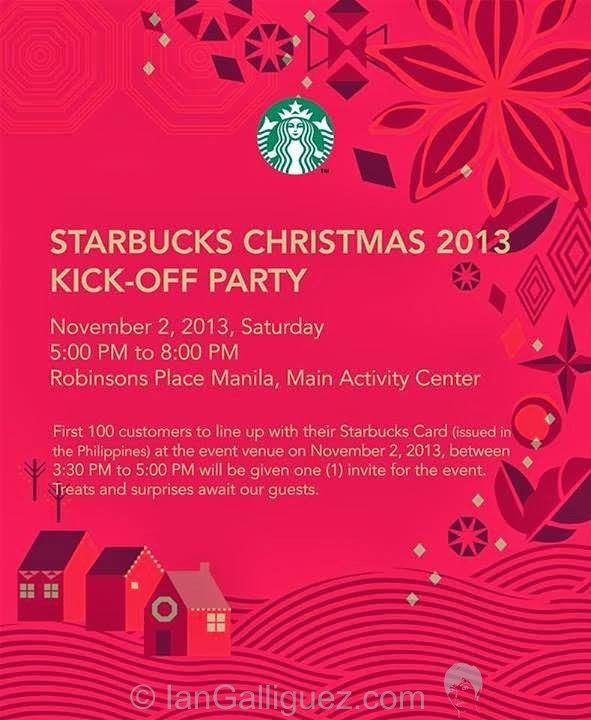 The Starbucks 2013 Christmas launch!
