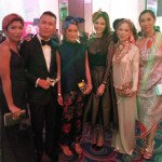 Style sisters Laureen and Liz Uy with Rex atienza, tessa prieto valdes digzy umali and ian galliguez