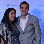 Travel Retail and Wholesale Director APAC, Florence Nguyen and David Celdran