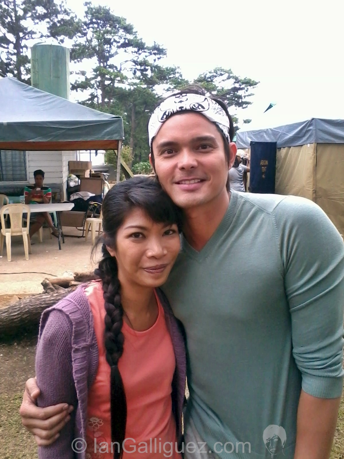 With Dingdong Dantes