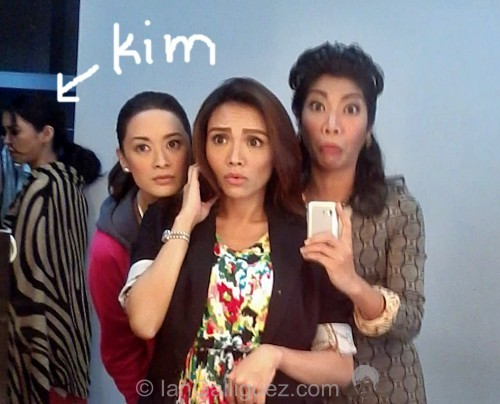 kim chiu at the background maricar reyes nina dolino ian galliguez star magic movie