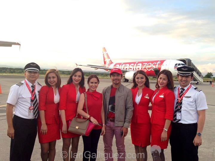 manny pacquiao air asia