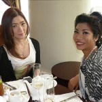 With Nikki Tang of SebaMed Philippines